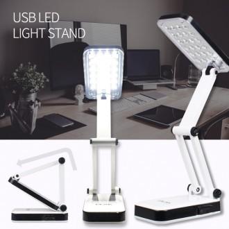 충전식 USB LED 스탠드 캠핑용품 랜턴 후레쉬 지진 재