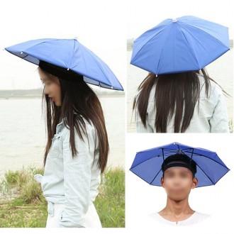 양산겸용 우산모자 방풍모자 낚시모자 썬캡 우산모자