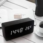 LED 우드 탁상시계/무소음/전자/디지털/시계/당일발송