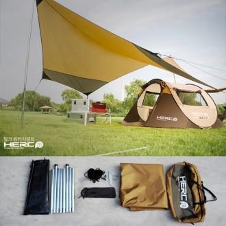 HERC 헥사 타프 그늘막 원터치텐트 캠핑용품