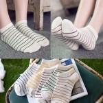 여성 발목양말 줄무늬 양말 A24 아름다운도매