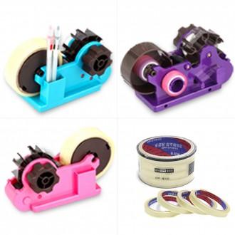 멀티물류 코라 원일 물레방아 테이프 커터기 EZ커터기