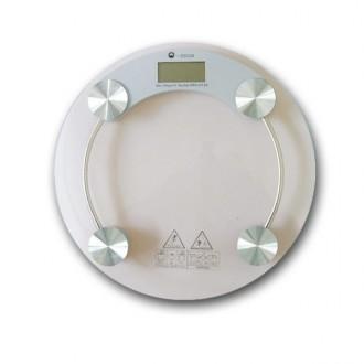 투명 디지털 원형 체중계 -T2/저울/몸무게/전자저울