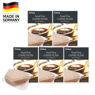 (잡동산이) 커피여과지/커피필터 40매 2 4인용/천연펄