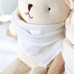 오가닉 엠보손수건/면손수건/아기손수건/출산준