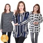 [리원패션] 베이직 티셔츠 -LEEW0844 (XL 3XL)
