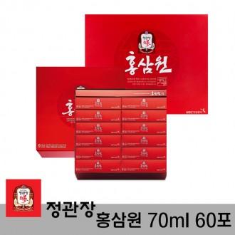무료배송 정관장 홍삼원 70ml 60포 홍삼액 홍삼정