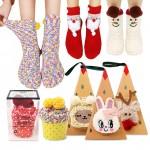 [케이에스몰] 크리스마스 수면양말/유아동수면양말/수면덧신/기모덧신