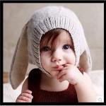 [아이니몰] 베이비 토끼모자 니트 바니모자 유아 귀달