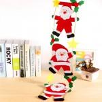 [땡처리]벽걸이 사다리 산타/산타/장식/리스/크리스마