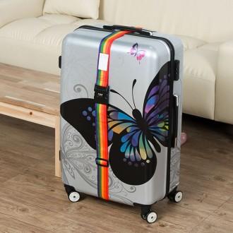무지개 여행용 가방 벨트락(200cm)