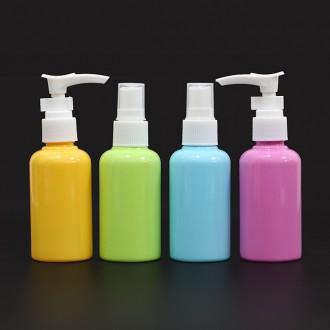 4p 휴대용 화장품용기(컬러)