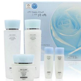 [3w엑설런트화이트3종]/미백기능성/동남아인기상품