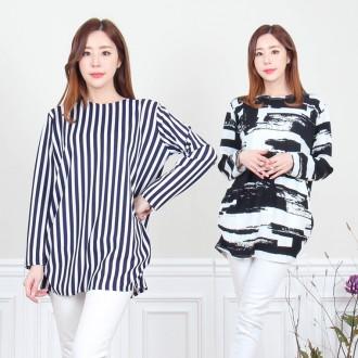 신상품 [리원패션] 베이직 엠보싱 티셔츠-W0888