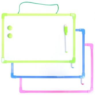 양면 화이트보드 30x21(중) 자석칠판 선물 유치원 어