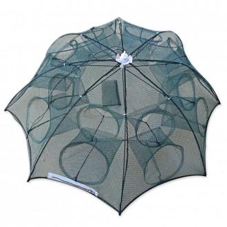 최신형8구통발 우산형통발 원터치 통발 어망 낚시그물