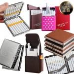 담배케이스 슬림/메탈/원터치/철제/실리콘