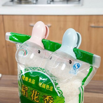 [마이도매]오리 쌀바가지/계량쌀컵/집게바가지/쌀컵/