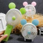 충전식 휴대용선풍기 ( 곰돌이/토끼/고양이)휴대용 미니선풍기/탁상 겸용