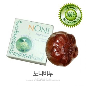 천연수제 노니비누/제로닌성분의천연비누/고급미용비