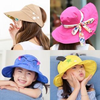귀여운 아동 돌돌이 모자/캐릭터모자/여름모자/아동모