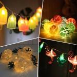 [본진] 예쁜 북유럽풍 LED가렌더/가렌더조명/무드등