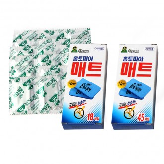 홈토피아 매트 모기매트 훈증기 매트45매