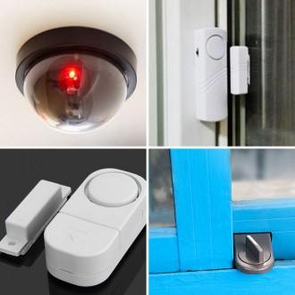 [마이도매]창문경보기/도어경보기/모형카메라/CCTV