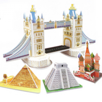 세계건축물퍼즐/3d퍼즐/건축물퍼즐/종이퍼즐/입체퍼즐
