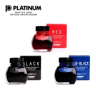 플래티넘 병잉크 60cc 블랙/블루블랙/레드