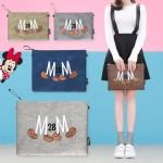 [디즈니정품]미키가방/클러치백/크로스백/미니백/파우치