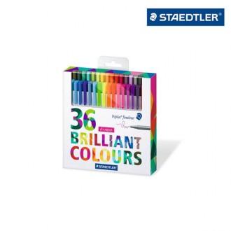 스테들러 트리플러스 화인라이너 36색 세트 334 C36