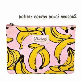 [파우치데이] 패턴 캔버스 파우치 시즌2[PH188]