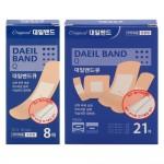 대일밴드Q(일반형)8매/반창고/밴드/일회용밴드/붕대