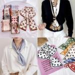 [마니판다]스카프/반다나/쁘띠스카프/손수건/머플러