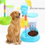 [마이도매]높이조절 애견식기/식수대/개밥그릇/2구