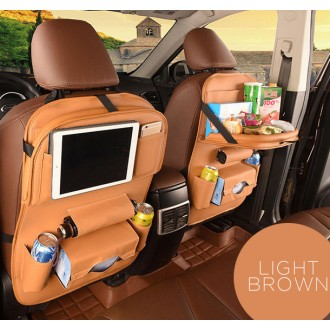 *핑크돼지* 차량뒷좌석포켓수납테이블/차량뒷좌석수납