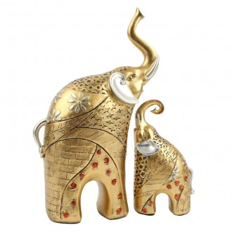 황금코끼리 2p세트/장식품/답례품/집