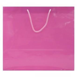 32x29x11 은하수 쇼핑백 코팅지5호 정3절-중형/핑크
