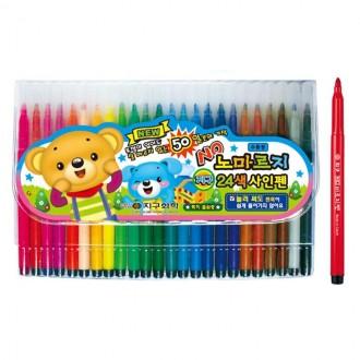 8000 사인펜 24색(노마르지) /싸인펜 사인펜