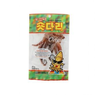 [한양식품] 오징어 숏다리 오리지날 5개입