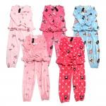 [아웃도어몰]밍크원단의 수면 잠옷세트