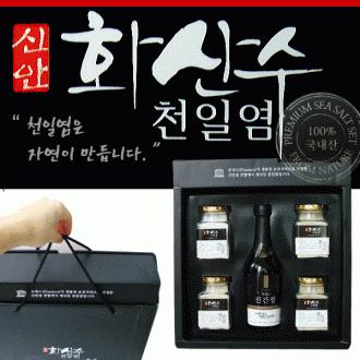 [홍스] 화산수/천일염/5종세트/소금/전남신암