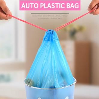 [마이도매]자동끈비닐봉지/비닐봉투/쓰레기비닐/15매