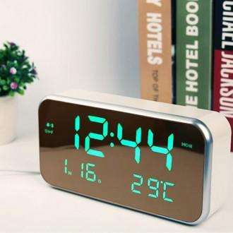 [루키] 신형거울시계 직사각 미러시계/탁상시계