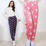 짱도톰 포근한 극세사 수면 바지/수면바지/잠옷