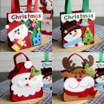크리스마스입체펠트가방5종류/파티필수템