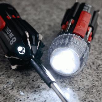 3구 LED 랜턴 드라이버 8종세트(13.5cm×4cm)/8in1