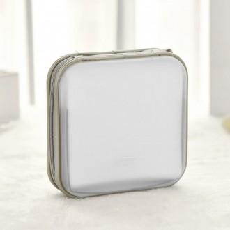 12p 휴대용 팬시 CD케이스(14.5cm×13.6cm×1.7cm)/격