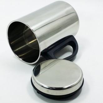 350ml 뉴 스텐 이중 뚜껑 머그컵